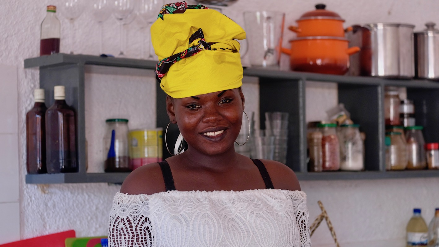 Local women will join Ilha Blue Chef Atija at the empowerment cafe